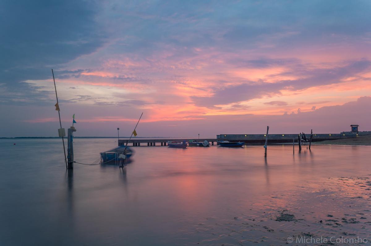 Pier at dawn - long exposure