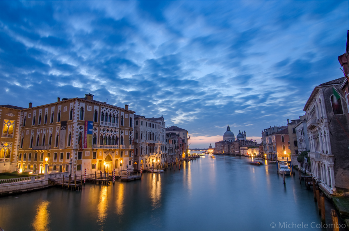 Dawn over Grand Canal - Venice
