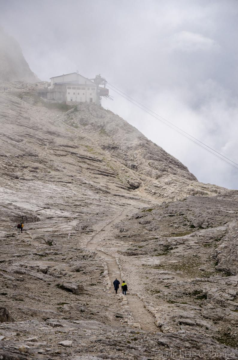 Mist from rifugio rosetta