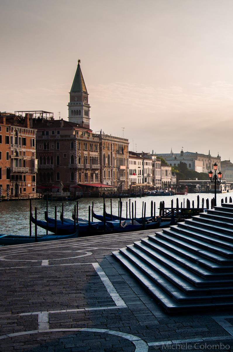 Gondolas in San Marco - Venice