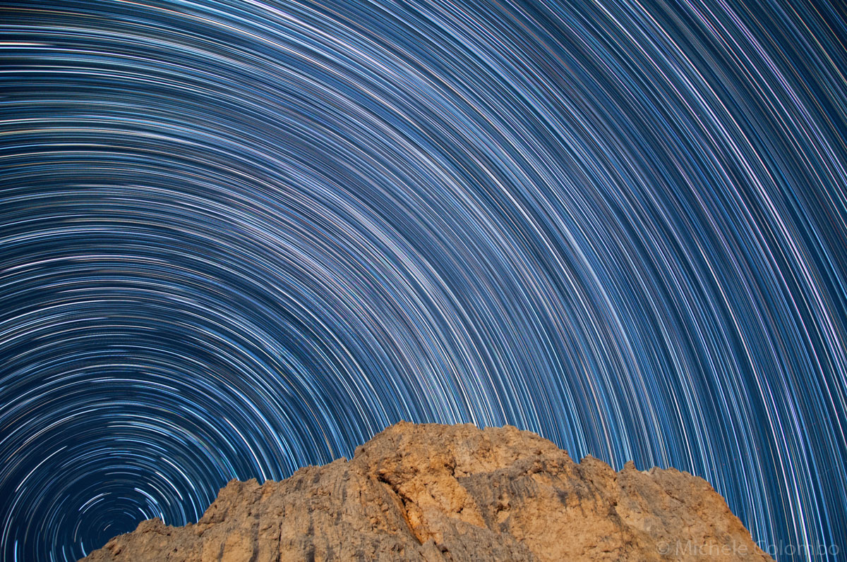 Antermoia with north star trail