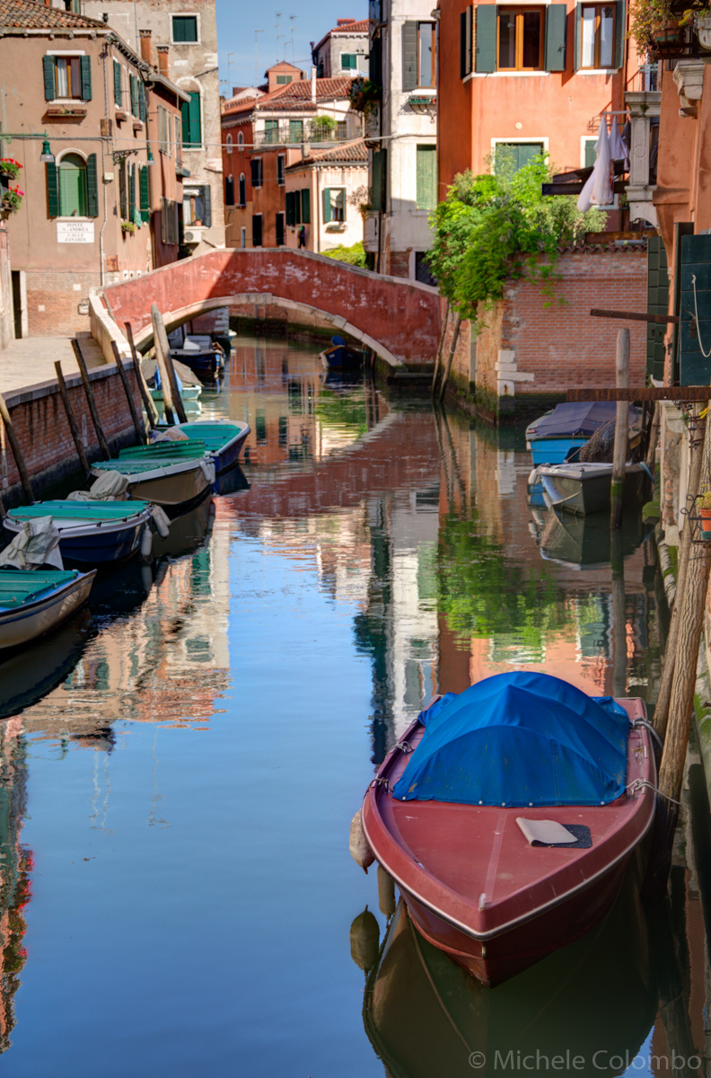Boats in Cannaregio - Venice