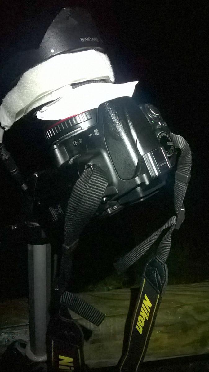fasce anticondensa per time lapse